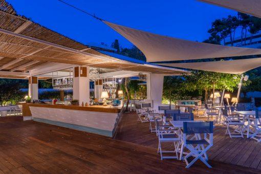 Akron beach bar restaurant paleokastritsa corfu Akron Luxury 00012 1